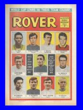 Rover Comic 1970 World Cup May 30th 1970